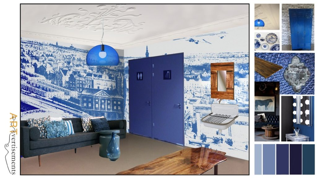 Artist impression for the artists room of Ziggo Dome Amsterdam