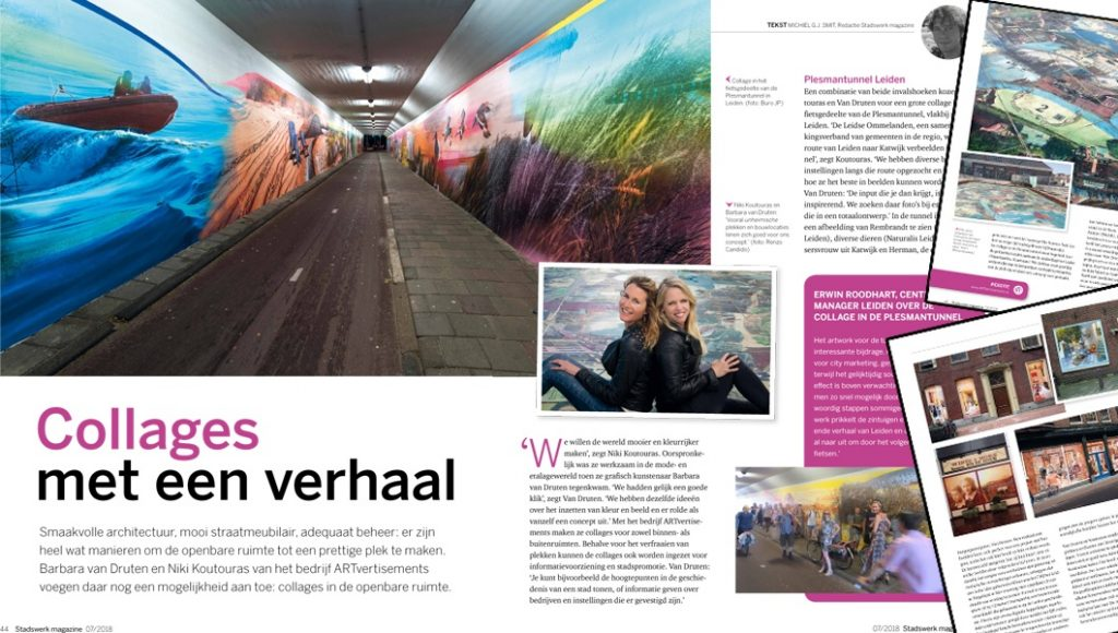 Publication of 4 pages in Stadswerk Magazine