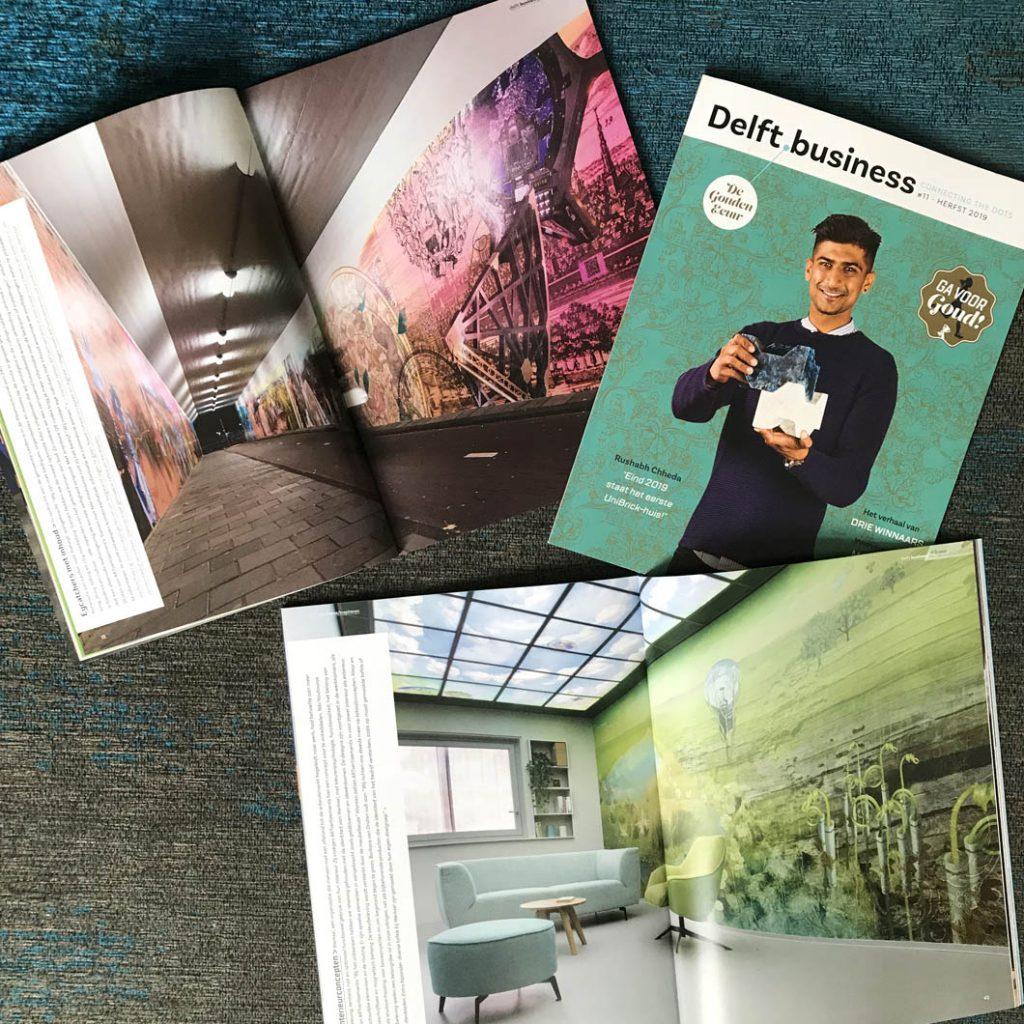 Drie publicaties in Dot Business (regio Delft)